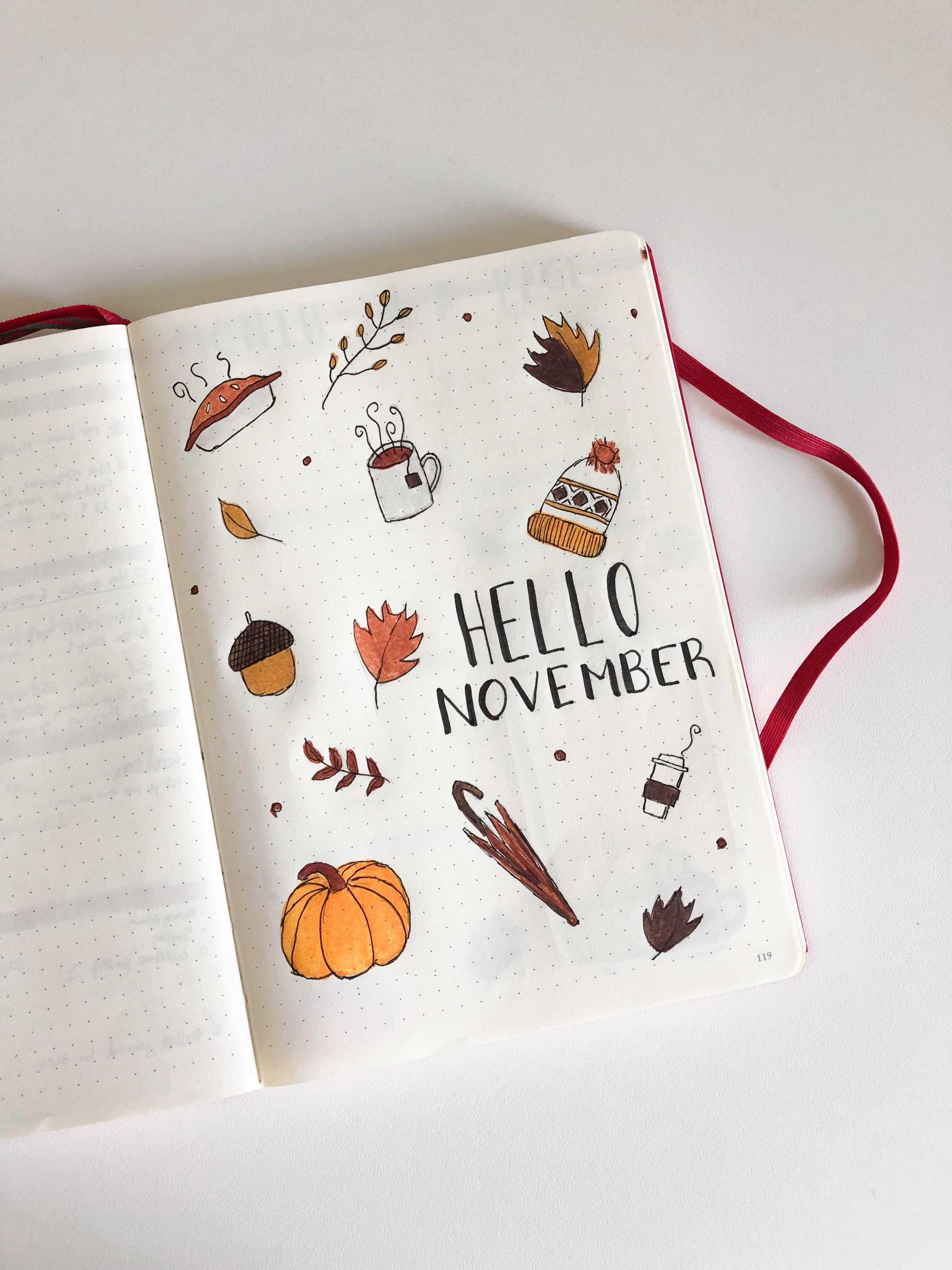 Why you should start a BULLET JOURNAL & November's edition by Sia