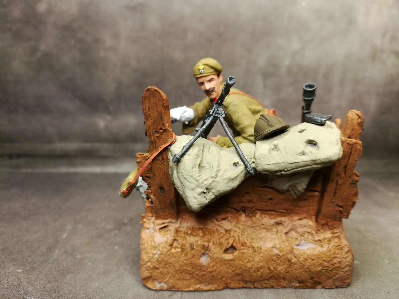 Ευζωνας, Μικρά Ασία, Στρατός