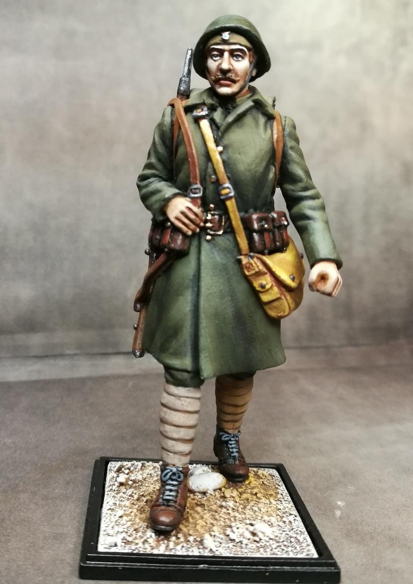 Greek soldier, 1940, WWII,