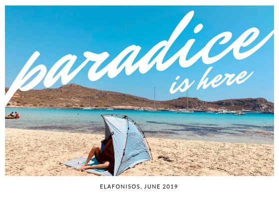 Summer Postcard from Elafonisos, Greece.