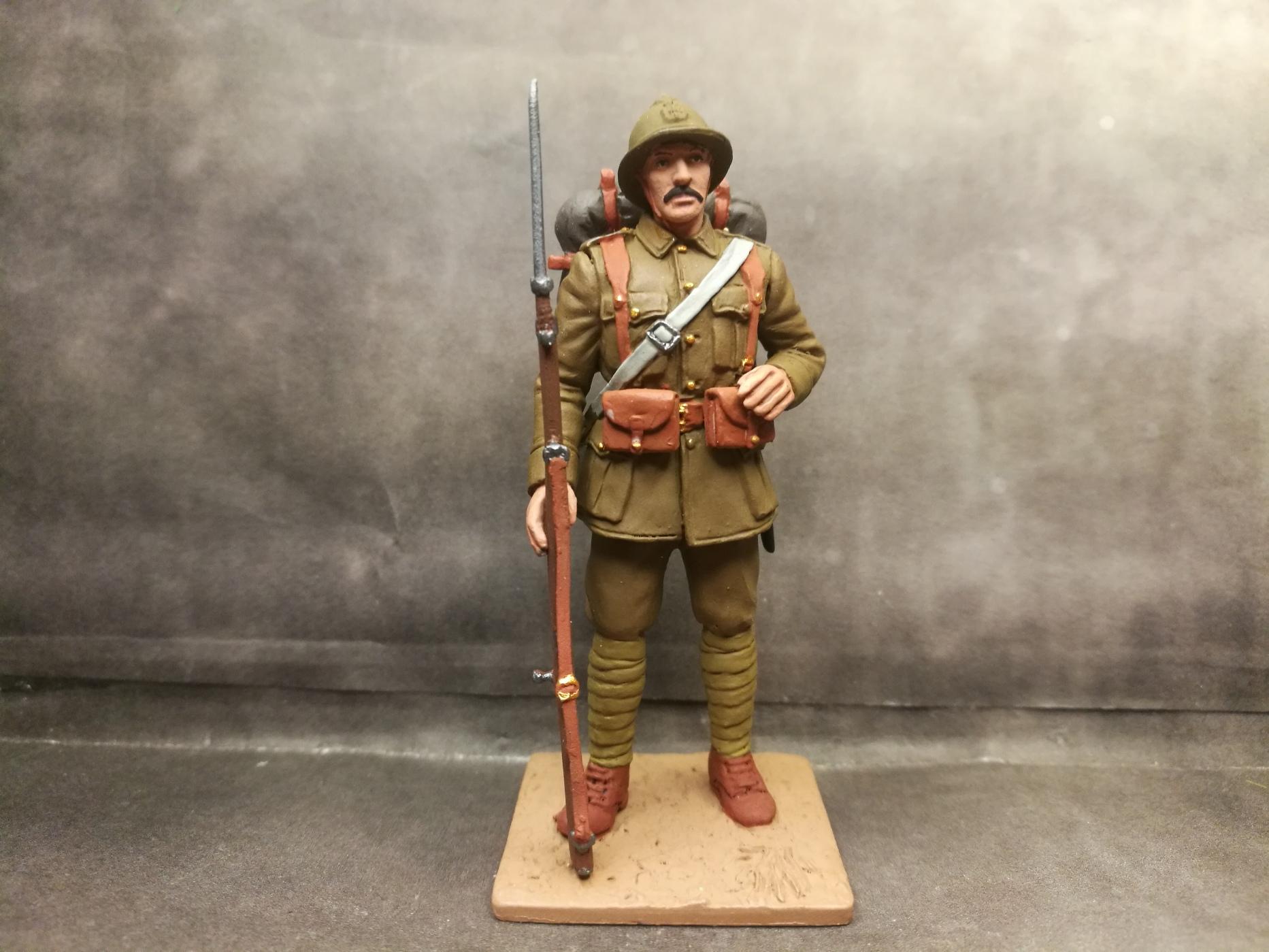 Greek private, soldier, WWI, World War One, Greek  Army