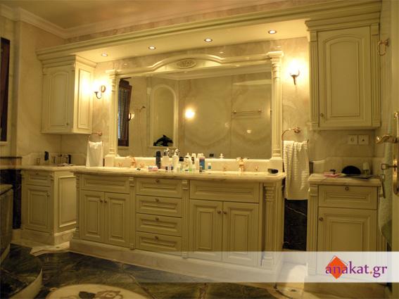 Ειδική κατασκευή επίπλου μπάνιου