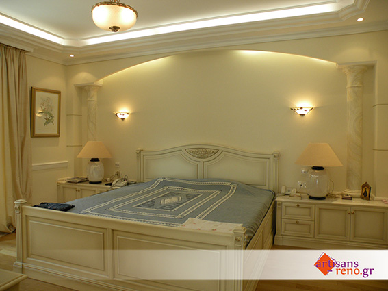 Aménagement d'espaces d'habitation nouveaux, chambre à coucher, salles de bains ...