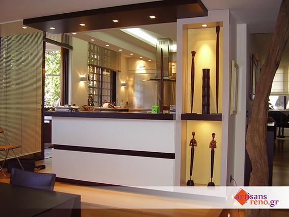 Aménagement d'espaces d'habitation nouveaux, paso cuisine-salle à manger de style moderne