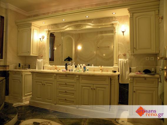 Construction spéciale sur mesures d'ameublement de salle de bain
