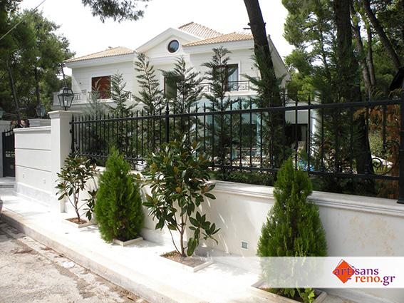 Création de l'espace extérieur d'une villa