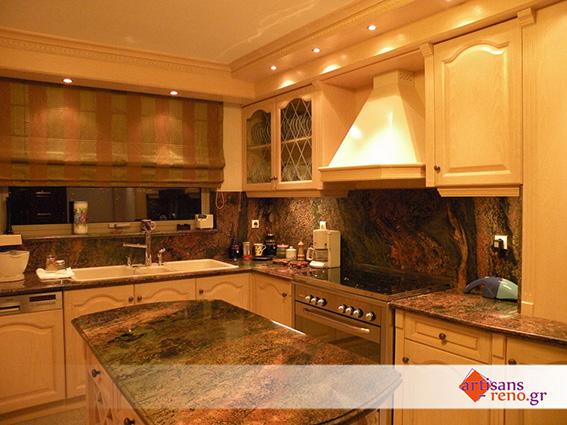 Rénovation d'espaces d'habitation, cuisine de style classique,...