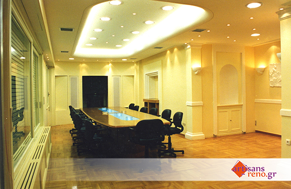 Rénovation d'espaces professionnels pour sièges d'entreprises publicitaires, d'assurances ...