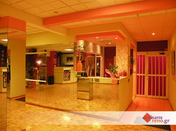 Rénovations d'espaces professionnels pour école de danse, gymnases, salles de sport ...