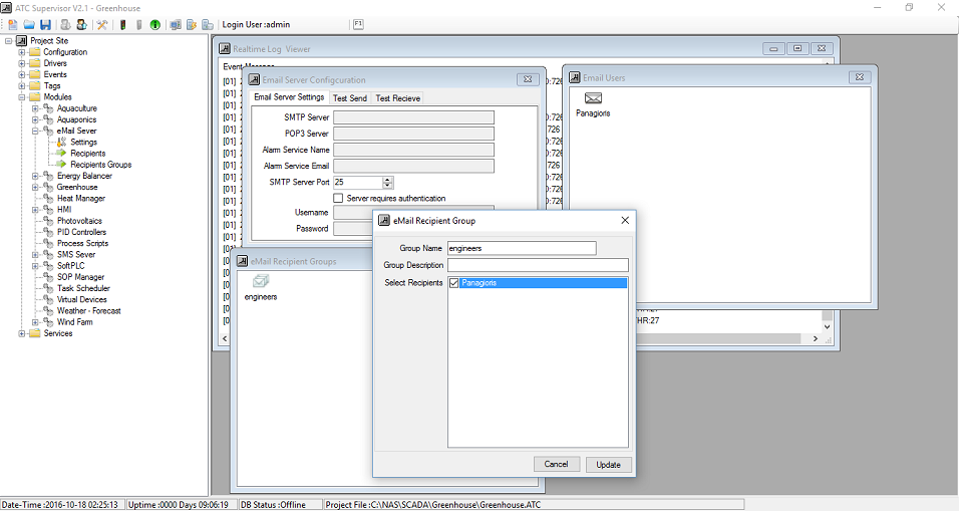 ATC Supervisor - eMail Server Module