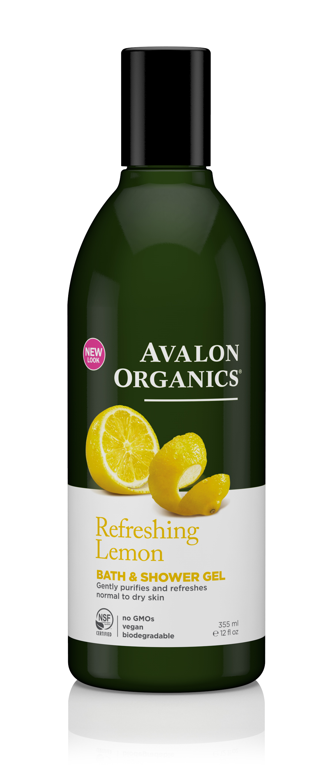Avalon Organics Lemon Bath & Shower Gel