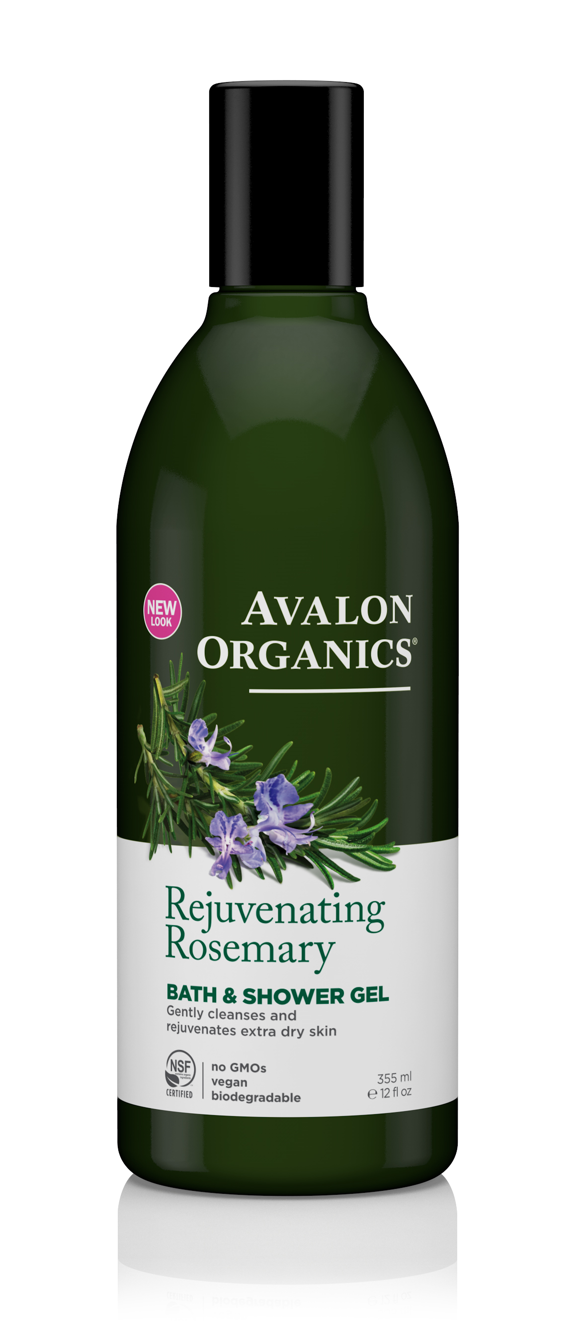 Avalon Organics Rosemary Bath & Shower Gel