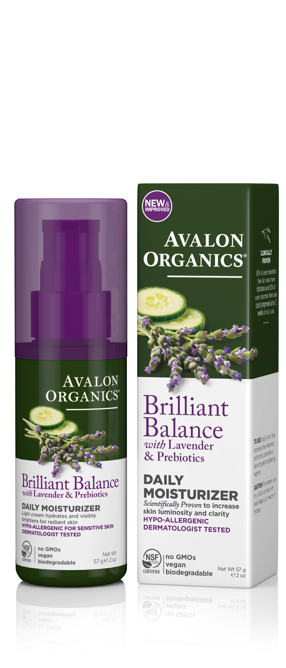Avalon Organics Daily Moisturizer 50ml
