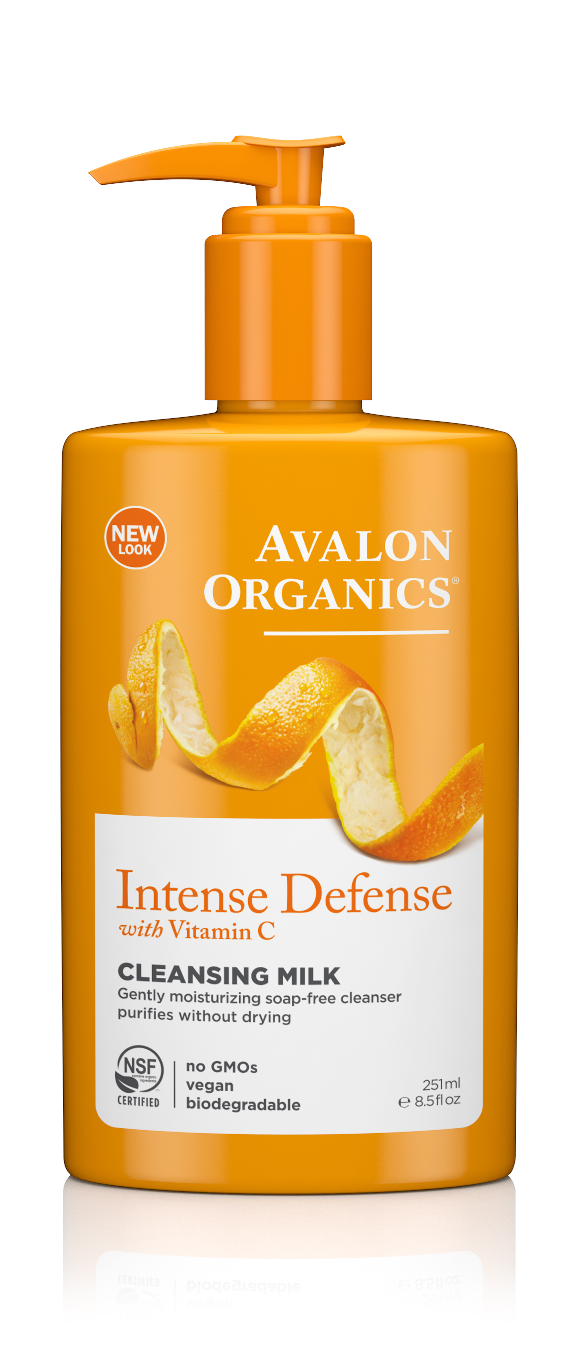 Avalon Organics Vitamin C Renewal Cleansing Milk