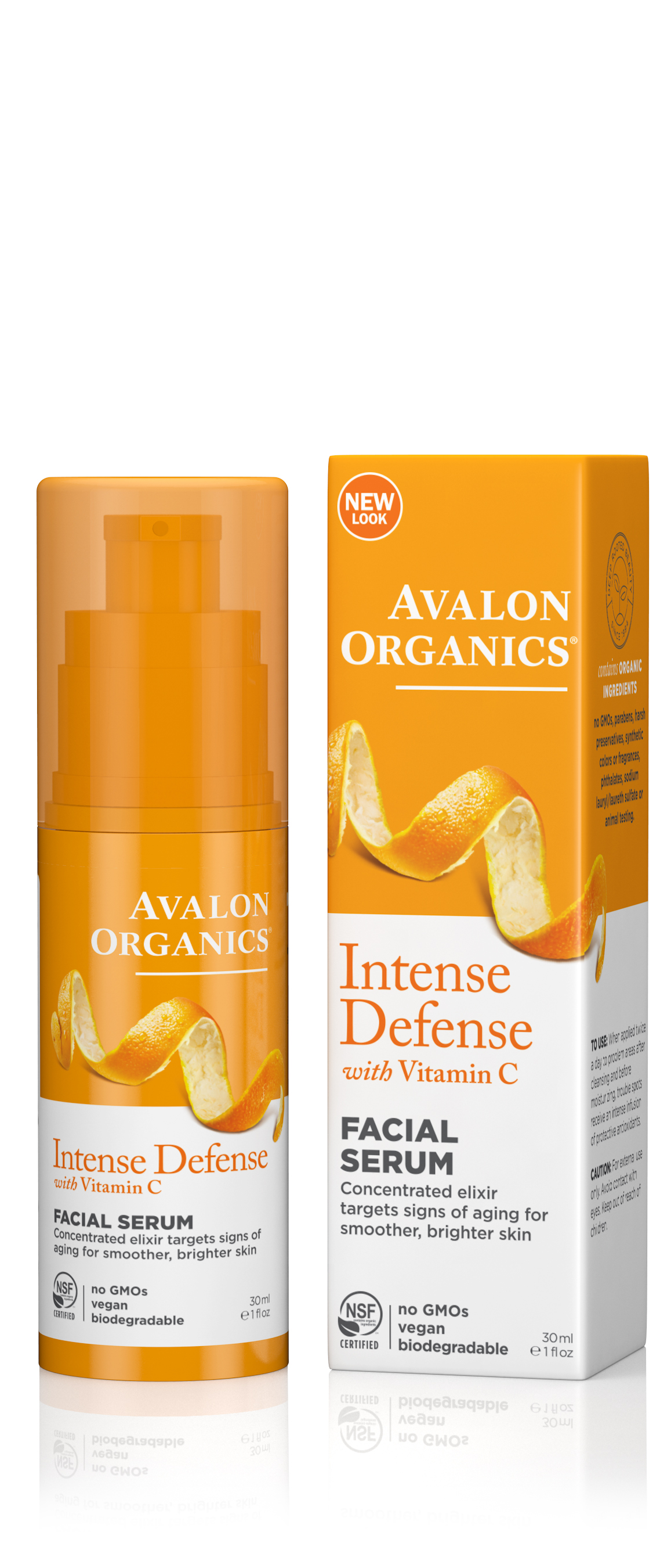 Avalon Organics Vitamin C Renewal Facial Serum