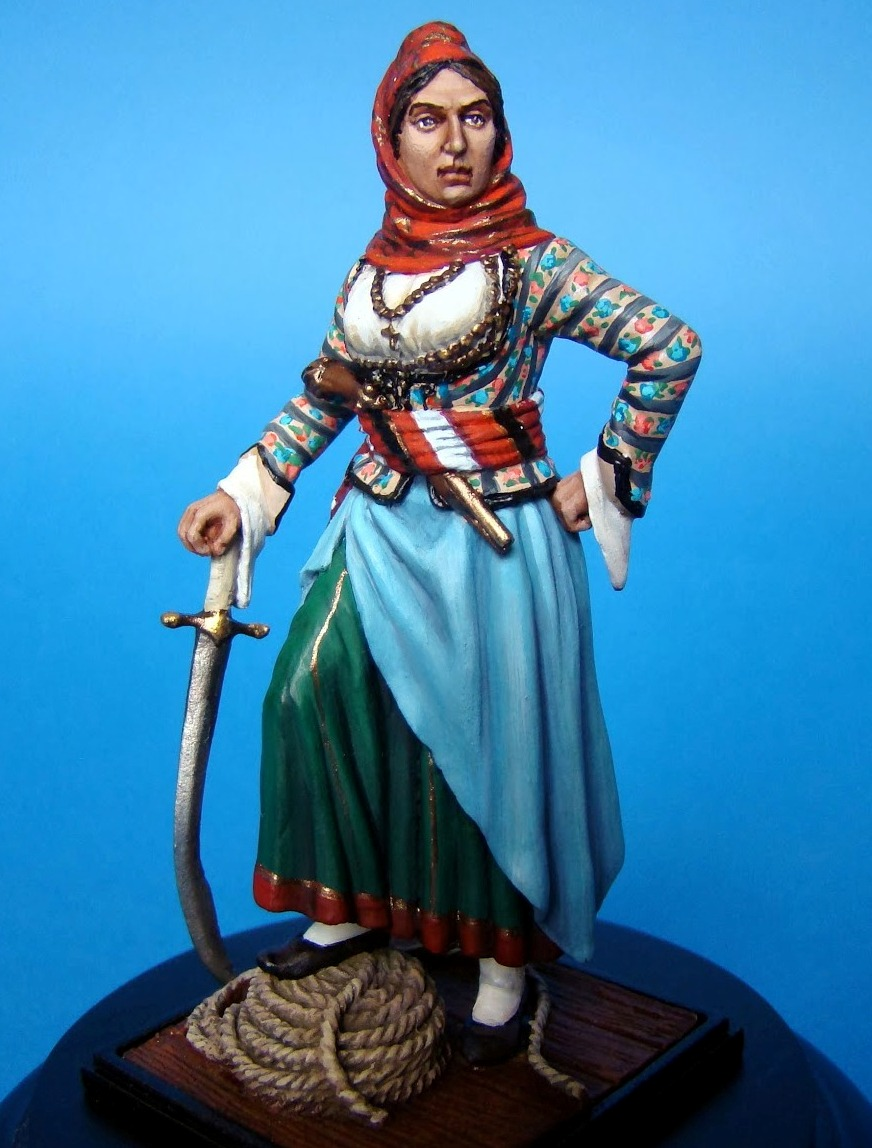 Laskarina, Bouboulina, 1821,