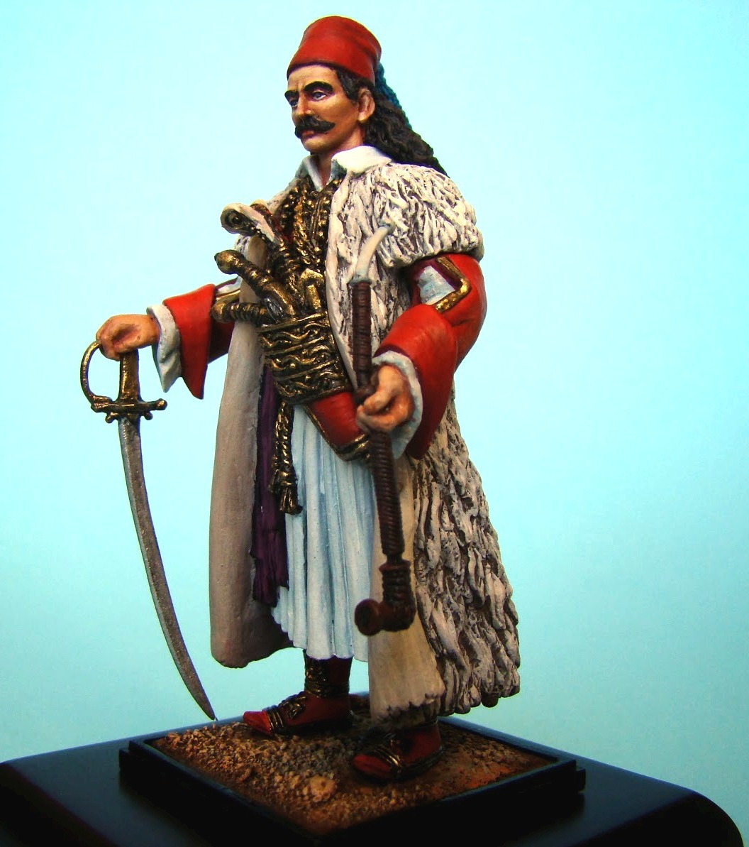 www.greekheroes.gr/miniatures-figures/54mm/Greek-revolution-1821-markos-botsaris/