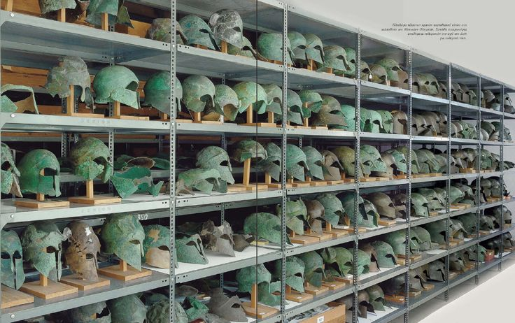 Greek helmets, Corinthian type, Greek hoplite