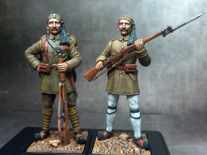 EVZONE BALKAN WARS 1912, EVZONE GRECO-TURKISH WAR 19