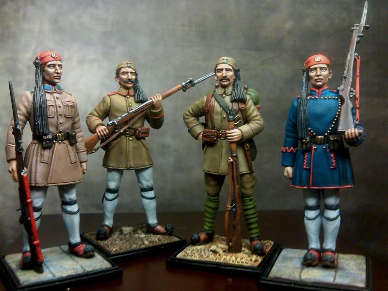 Ευζωνες, ευζωνας, προεδρική φρουρά , βαλκανικοι πόλεμοι, evzone, balkan wars,