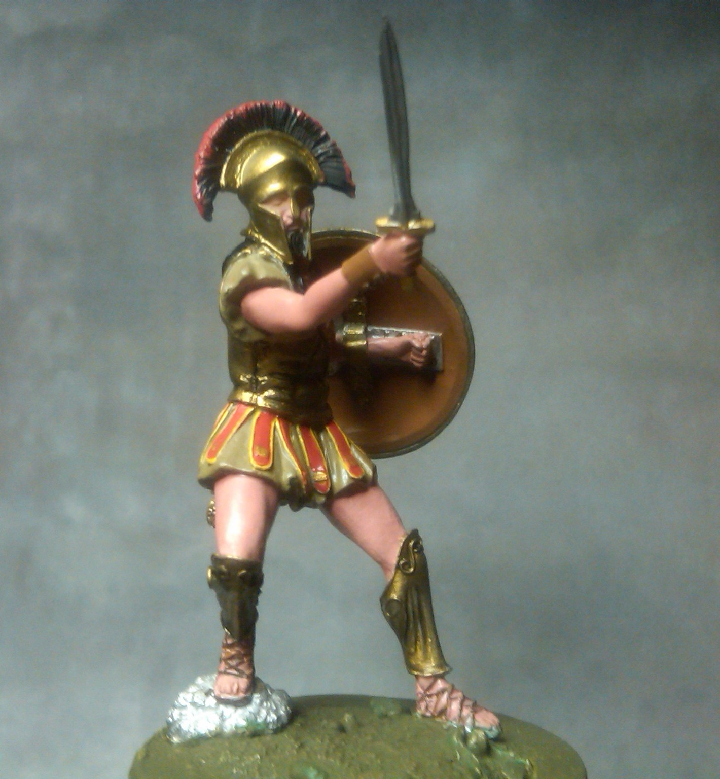 greekheroes/miniature-figure/ spartan/σπαρτιατης/φή εικόνας