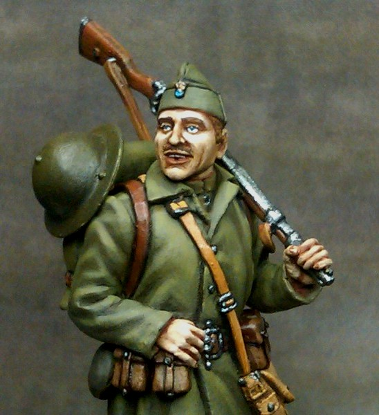 Greek Soldier/1940/Ελληνας Στρατιωτης/1940/Greek heroes/miniature