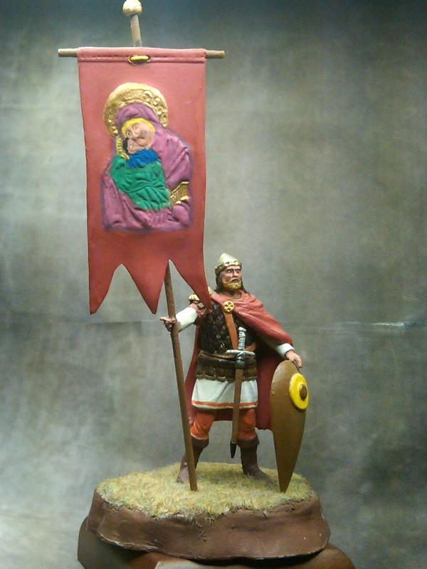 Byzantine soldier, byzantine army, Greekheroes, miniature,