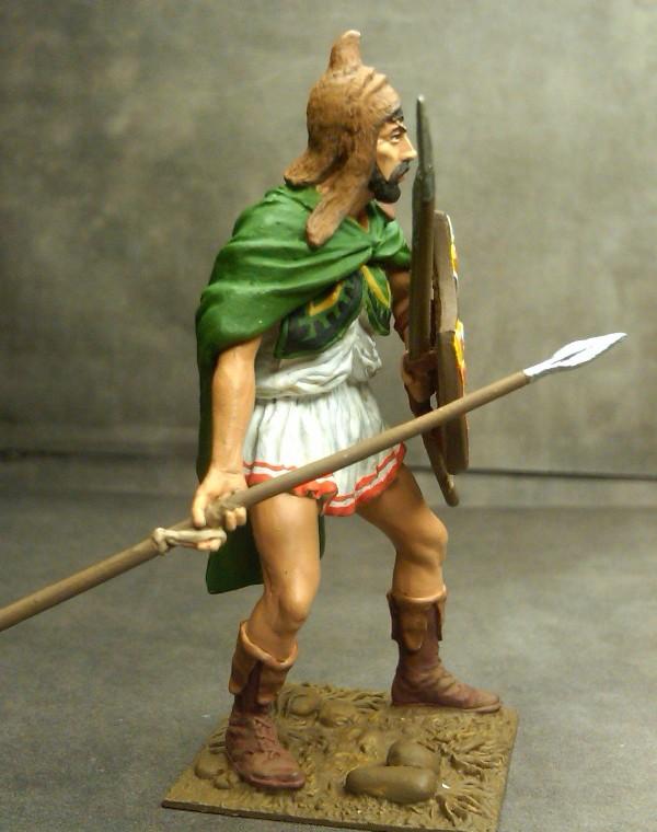 Thracian, Peltast, Greek, Warrior. Θράκας, πελταστής, Ελληνας,