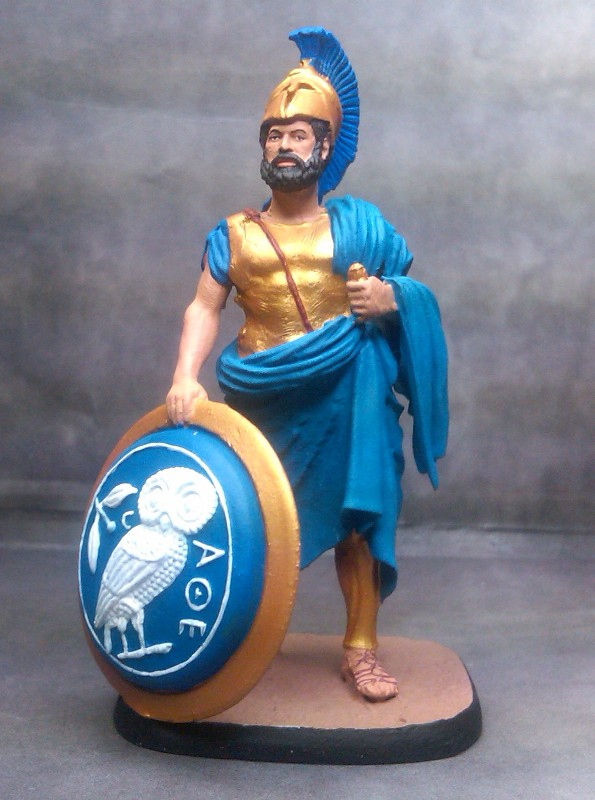 THEMISTOCLES  Athenian politician and General - Battle of Salamis  480 B.C.