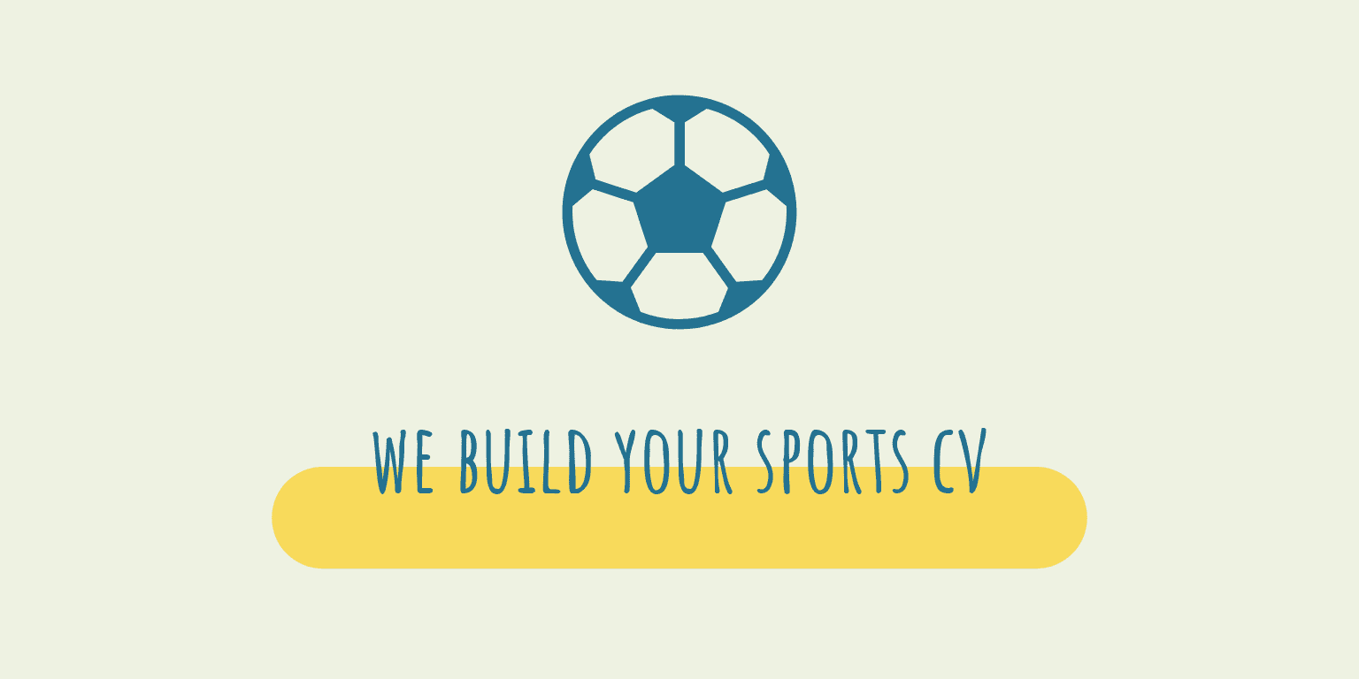 We build your sports CV