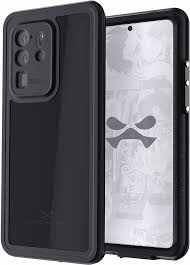 Ghostek Nautical Slim Waterproof Case for Samsung Galaxy S20 Ultra. Black