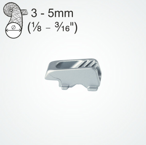 CL244L Aluminium Cleat Insert with Fairlead (Spare Part)