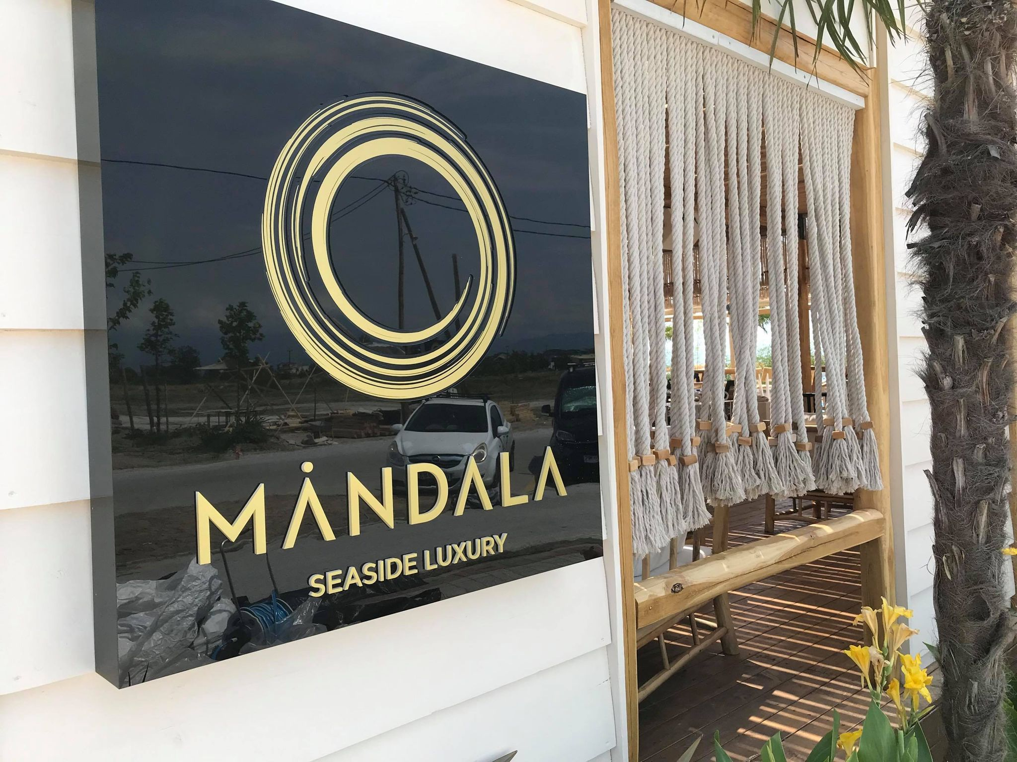 MANDALA Seaside Luxury, παραλία Κατερίνης, Main Entrance