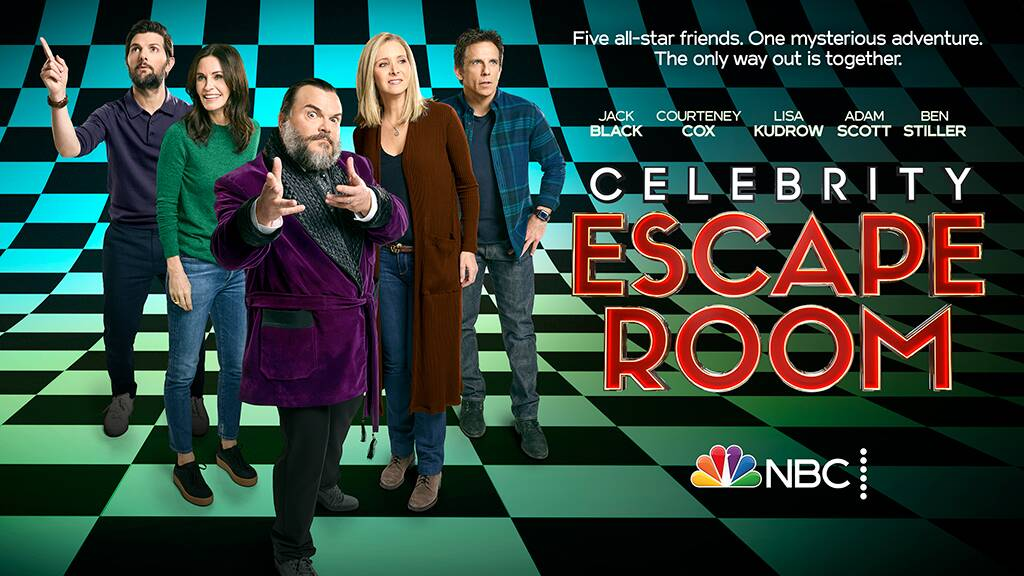 Celebrity Escape Room ! (Video)
