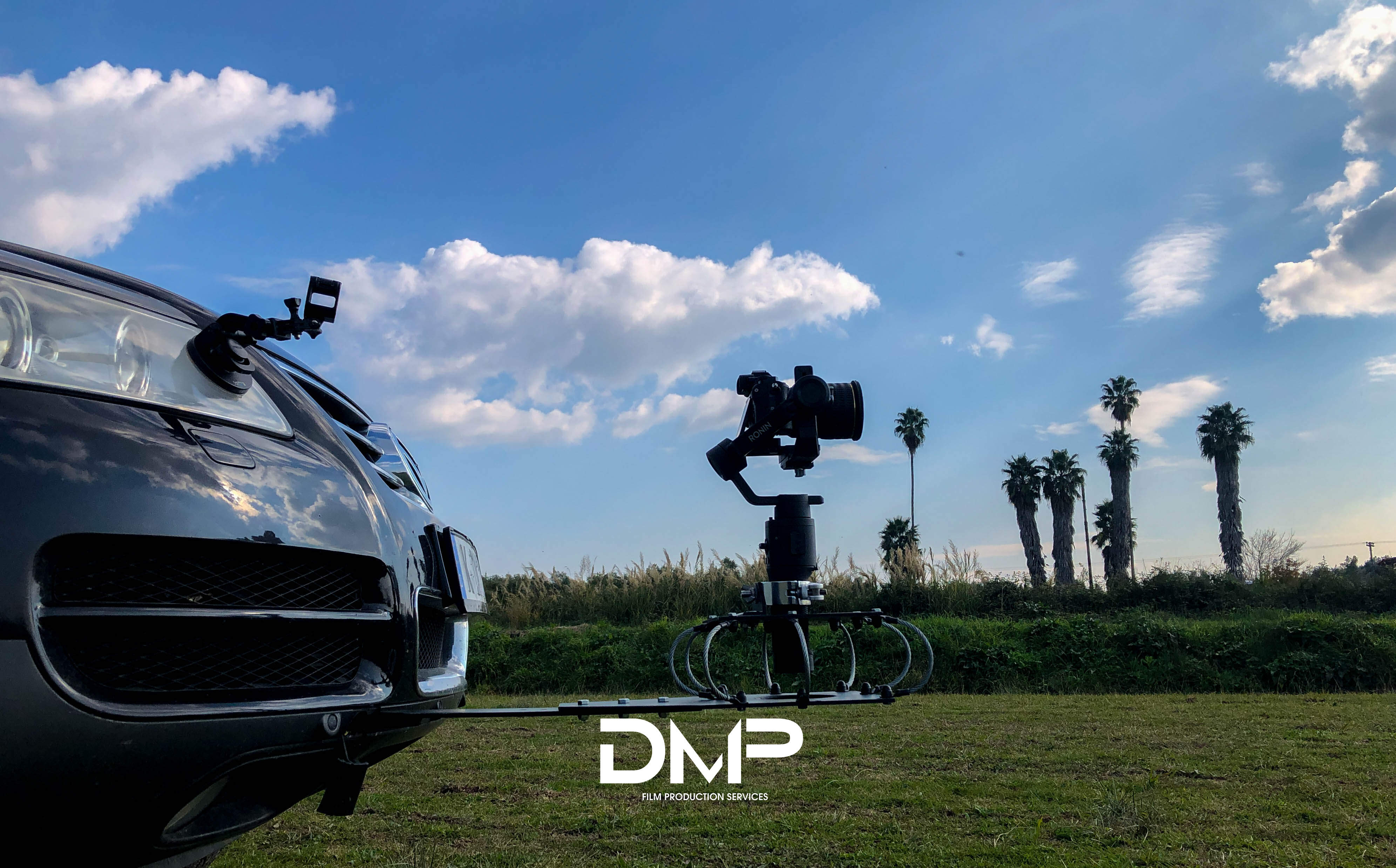 Camera Car Mount by DreamMaster combatable with Dji Ronin S/SC