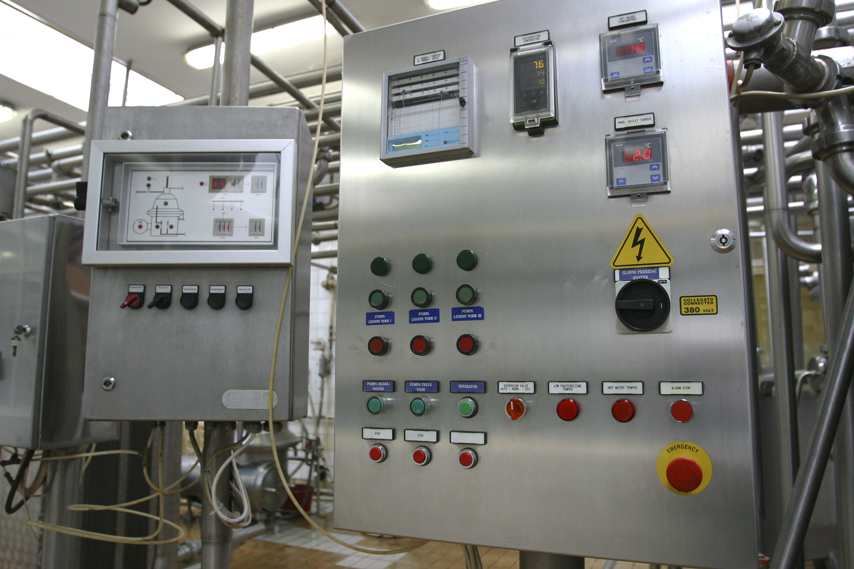 ATC Supervisor HMI module and MBrick controller can be used for process control applications